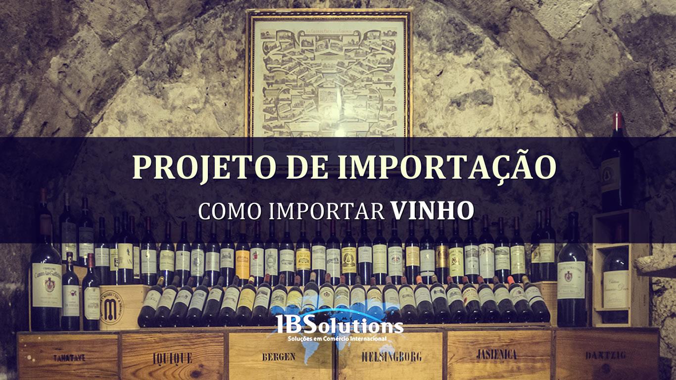 Como Importar Vinho