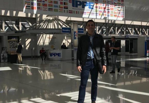 Antonio Junior na IPPE Atlanta