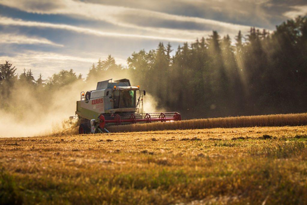 Importação no setor agrícola - Colheitadeira